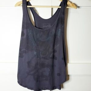 We the free Grey Tank top Sleeve Distressed Small